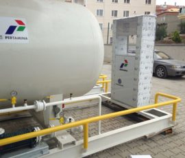 LPG Skid Sistem